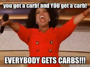 oprah carbs